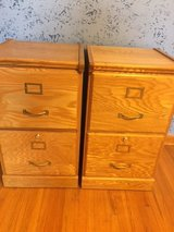2 Wood File Cabinets in Fort Campbell, Kentucky
