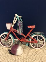 "Journey Girls 18"" doll bike American Girl in Batavia, Illinois"
