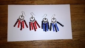 Handmade earrings in Spring, Texas