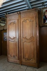 elegant tall armoire from a chateau in Wiesbaden, GE
