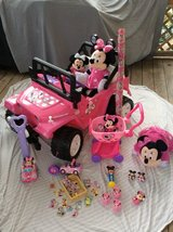 MINNIE MOUSE LOT!!!!! POWER WHEELS plus lots more!!! in Cherry Point, North Carolina