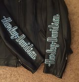 Woman's Harley Davidson Leather Jacket Large in Fort Campbell, Kentucky
