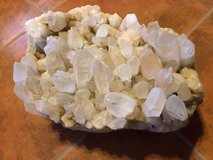 Quartz Crystal Cluster, 67 lbs in Alamogordo, New Mexico