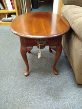 Cherry Oval Side Table in Bolingbrook, Illinois