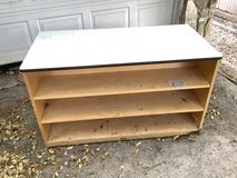 2 Sided Wood Cabinet in Converse, Texas