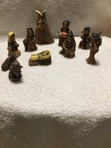 Native American miniature Nativity Scene in Fort Campbell, Kentucky