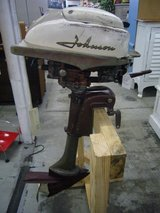 VINTAGE JOHNSON OUTBOARD MOTOR in Camp Lejeune, North Carolina