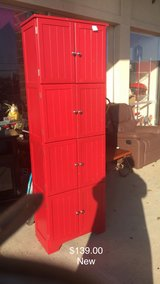 Red Cabinet (New) in Fort Leonard Wood, Missouri