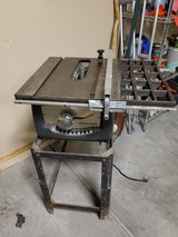 craftsman 103.22181 table saw. vintage. in Alamogordo, New Mexico