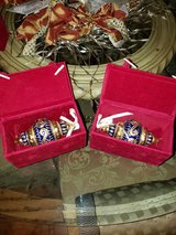 Cloisonne Hand Painted Christmas Ornament Collection in Spring, Texas