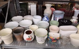 bundle of over 40 plant pots and vases in Lakenheath, UK
