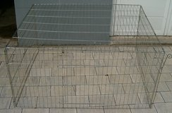 Metal Outdoor Rabbit Cage in Grafenwoehr, GE