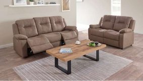 United Furniture - Ivry dual voltage Recliner Sofa + Loveseat (not reclining) includes delivery in Ansbach, Germany