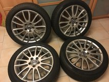 Volvo OEM S40 / V50 Rims and Tires w/ TPMS in Wiesbaden, GE