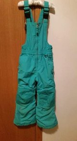 Girls size 4 Lands End Grow with Me Snow Pants in Joliet, Illinois
