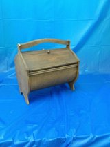 Vintage Wooden Sewing Box 915-116 in Camp Lejeune, North Carolina
