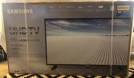 Samsung 65 Inch UHD TV in Fort Lewis, Washington