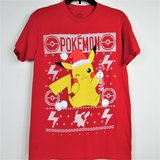 NEW Pikachu Christmas T-Shirt Men's Unisex Small in Chicago, Illinois