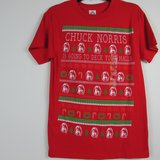 NEW Chuck Norris Christmas T-Shirt Small Men (Unisex) Classic Fit GIFT IDEA in Chicago, Illinois
