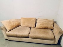 Large Couch & Queen Box Spring in Stuttgart, GE