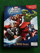 Avengers story book in Ramstein, Germany
