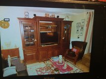 Solid Cherry Wood Entertainment Center (all offers considered) in Ramstein, Germany