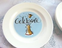 Set of 4 party plates for desert in Alamogordo, New Mexico