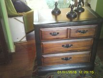 DRESSER / CHEST 3 DRAWERS  LIKE NEW ALL WOOD in Orland Park, Illinois