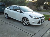 Clean/Safe. 2012 Focus Titanium in Spring, Texas