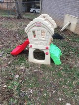 Little tikes hide and seek slide in Fort Campbell, Kentucky