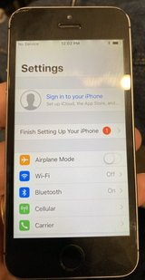 iPhone 5s 16 Gb unlocked in Aurora, Illinois