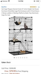 Cat/critter playpen in Plainfield, Illinois
