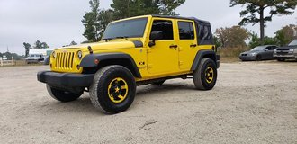 2009 JEEP Wrangler Unlimited X 4x4 in Fort Polk, Louisiana