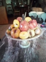 Marble Table and Marble Fruit Bowl in Biloxi, Mississippi
