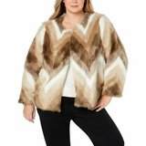 LAST CHANCE! NEW WITH TAGS! ALFANI FAUX FUR COAT $189 retail in Travis AFB, California