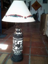 Ceramic table Lamp with Southwest shade in Alamogordo, New Mexico