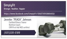 certified fitness trainer and nutrition coach in Fort Campbell, Kentucky