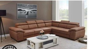 United Furnture - Neuss - Sectional - NEW MODEL in 4 different colors - price includes delivery in Heidelberg, GE