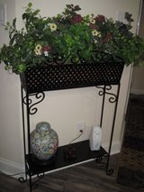 wrought iron plant stand in Byron, Georgia