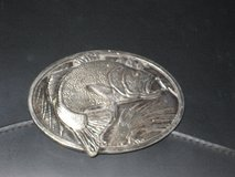 BASS FISHING BELT BUCKLE in Chicago, Illinois
