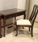 Wood Desk and Chair in Yorkville, Illinois