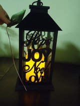 "new 11"" lantern w/flickering candle in Naperville, Illinois"