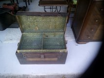 Old trunk with tray in Kingwood, Texas