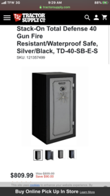 Stack On Total Defense 40 Gun Safe in Fort Campbell, Kentucky