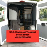 MOVERS WITH TRANSPORT, PICK UP AND DELIVERY, ASSEMBLE AND INSTALLATION in Ramstein, Germany