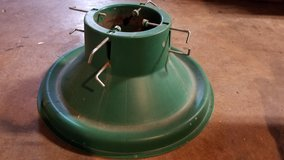 Watering Christmas Tree Stand in Spring, Texas