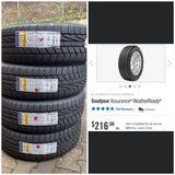 NEW all season tires in Ramstein, Germany