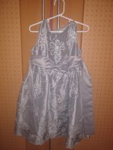 silver sparkle Christmas dress size 4 in Ramstein, Germany