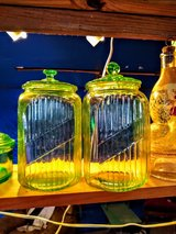 uranium Glass canisters in Cherry Point, North Carolina