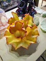 RARE Fenton epergne (yellow and pink) in Cherry Point, North Carolina